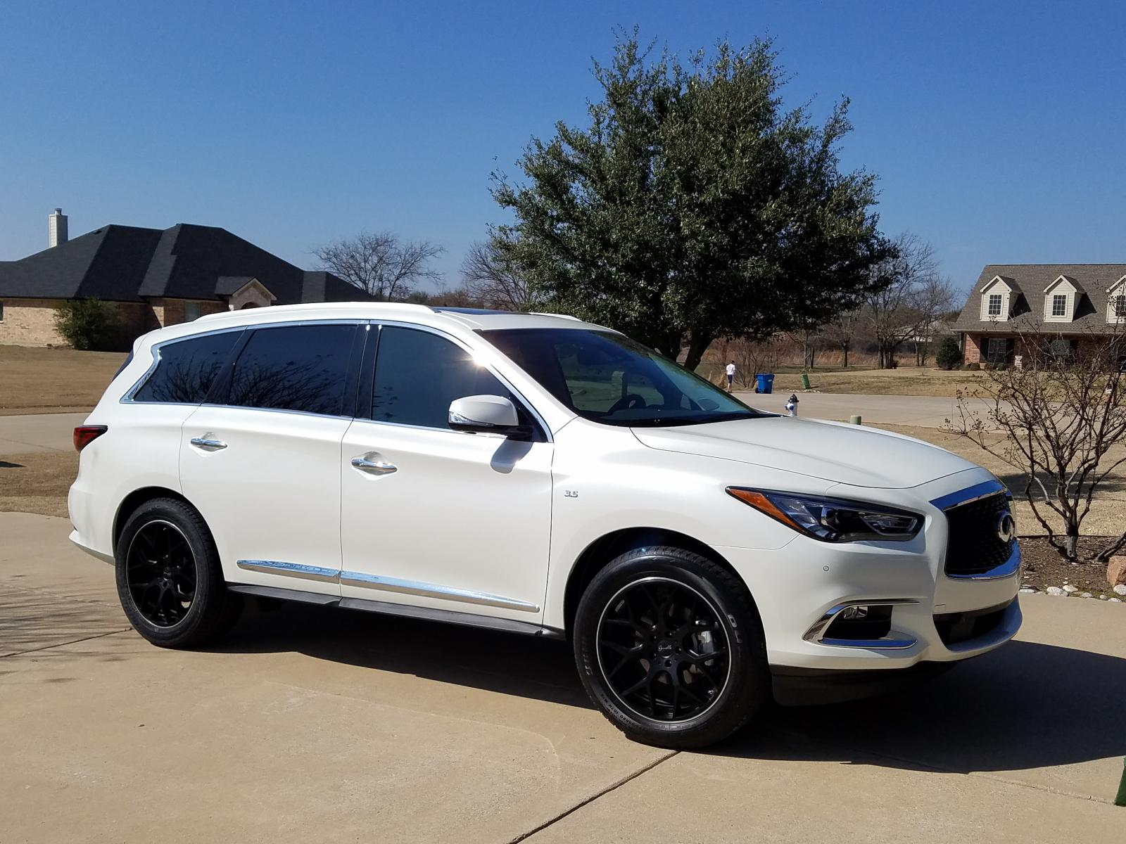 2017 qx60 majestic white with gianelle puerto wheels infiniti qx60 forum. Black Bedroom Furniture Sets. Home Design Ideas