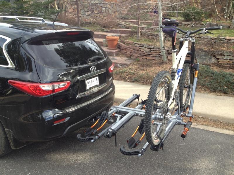 Hitch Mounted Bike Rack Option Kuat Infiniti Qx60 Forum