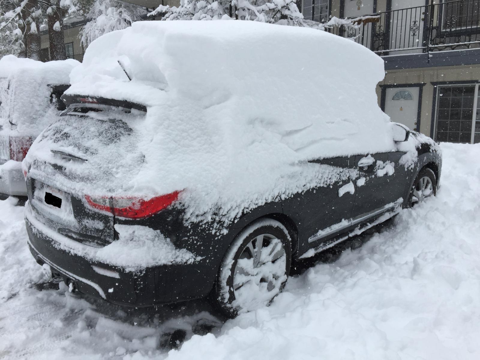 Infiniti qx60 snow handling