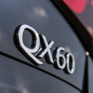QX60 Badge