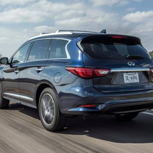 2016 Infiniti QX60 Redesign Rear