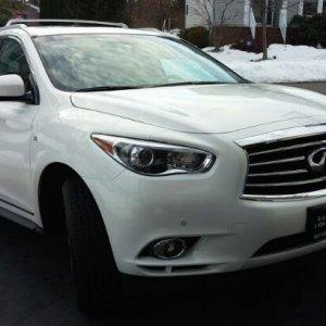 My Infiniti QX60 - Day after Delivery